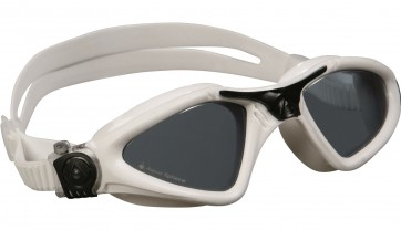 Aqua Sphere KAYENNE Regular Fit Dark Lens Adult Goggles Black and White