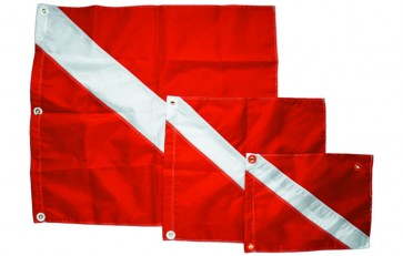"Innovative 31 x 36"" Nylon Diver Down Flag"