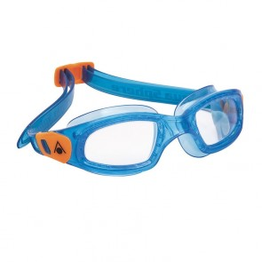 Aqua Sphere Kameleon Clear Lens Kids Goggle - Aqua/Orange