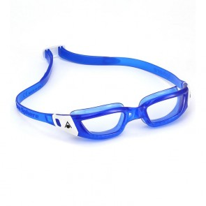 Aqua Sphere Kameleon Clear Lens Junior Goggle - Blue/White