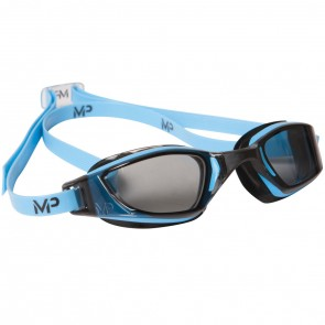 Michael Phelps XCEED Dark Lens Men's Goggles Black & Blue