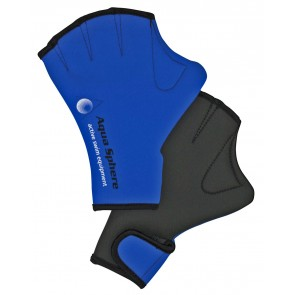 Aqua Sphere Swim Gloves with Velcro