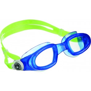 Aqua Sphere MAKO Clear Lens Adult Goggles Blue Lime