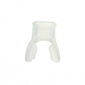Innovative Silicone Long Bite Mouthpiece - Clear