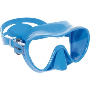Cressi F1 Frameless  Mask Blue