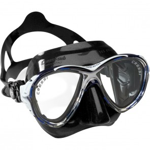 Cressi Eyes Evolution Mask with Black Skirt