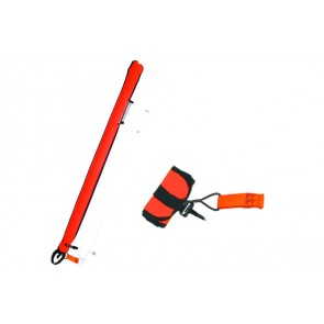 "Innovative Scuba 45"" Diver Below Signal Tube"