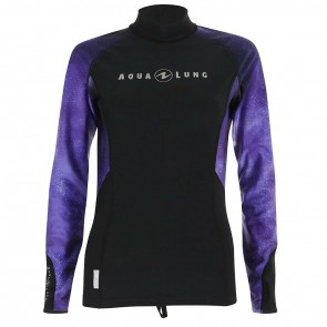 Aqua Lung Galaxy Long Sleeve rash guard for Ladies  Purple
